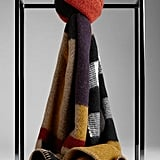 Burberry Colorblock Check Wool Cashmere Scarf