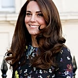 Kate Middleton's Voluminous Blowout, 2017