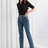 & Other Stories Tapered High Rise Jeans