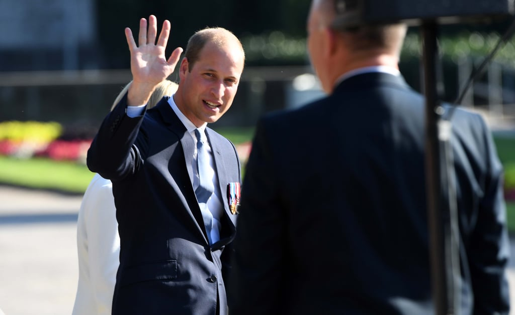 Prince William in Germany Pictures August 2016