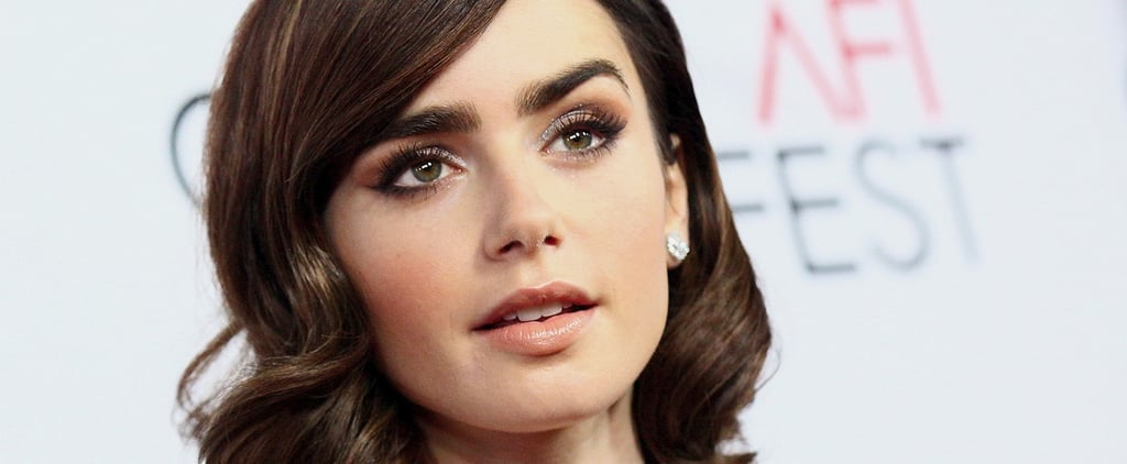 Lily Collins Gets Real About Her History With Eating Disorders