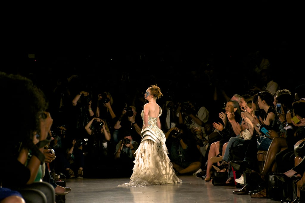 Maddy Stuart Just Made Her New York Fashion Week Catwalk Debut!