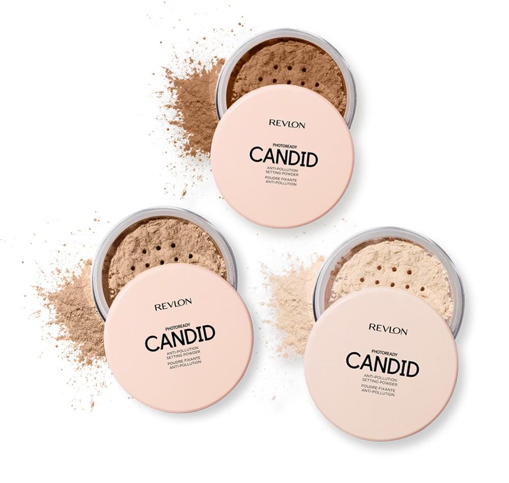 A Non-Chalky Setting Powder