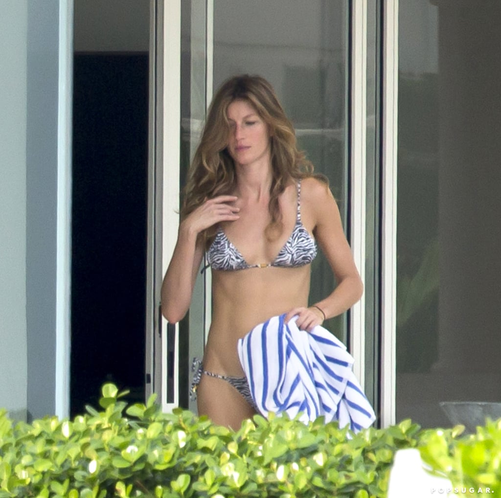 Gisele Bündchen was in Miami to help support her husband, Tom Brady.