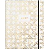 Kate Spade Gold Caning 17-Month Planner ($36)