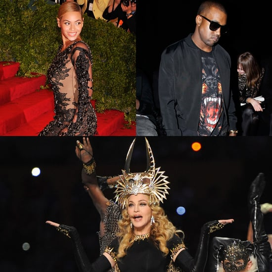 Stars Wearing Givenchy by Riccardo Tisci