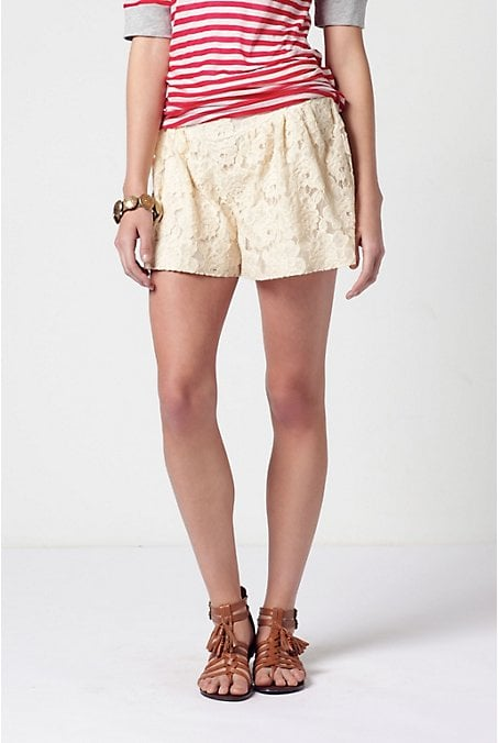 Anthropologie Lace Shorts ($128)