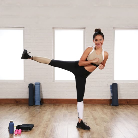 Victoria's Secret Model Boxing and Toning Workout