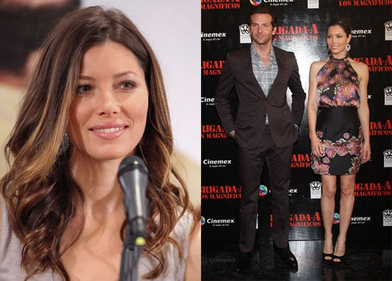 Pictures of Bradley Cooper, Jessica Biel at the Premiere of the A-Team in Mexico