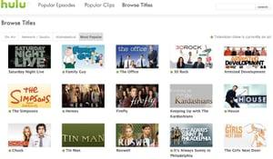 Buzz Test Drive: Hulu.com