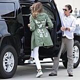 Melania's Highly Insensitive Jacket