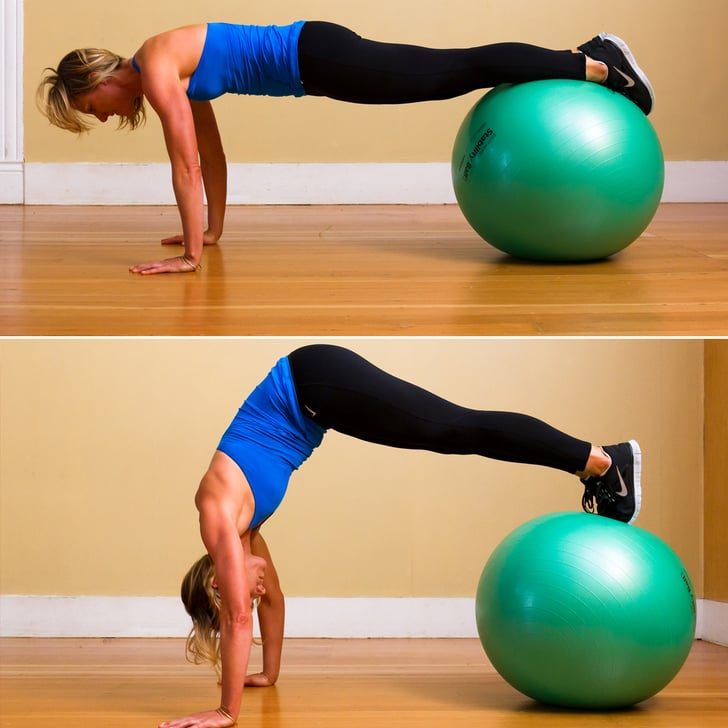 Stability Ball Moves: Fast Full-Body Workout