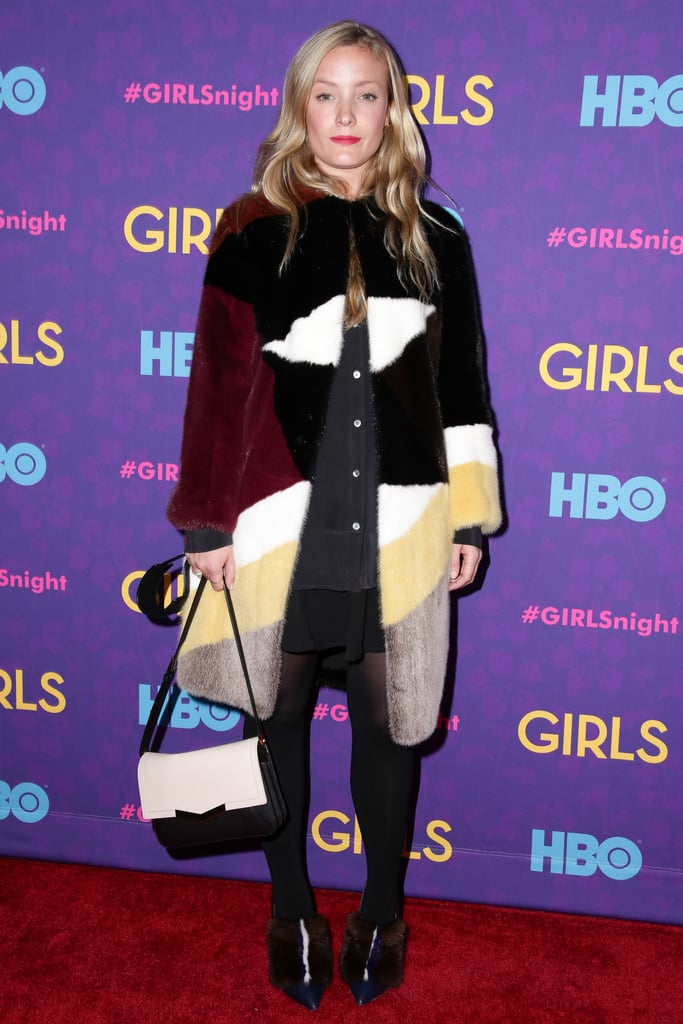 Kate Foley at the Girls premiere.
