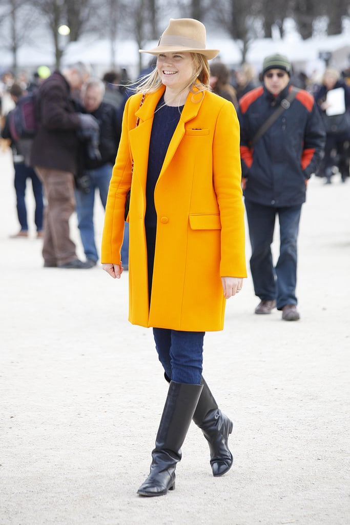 Citrus-infused outerwear? Yes please!