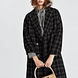 Zara Long Check Coat ($259)