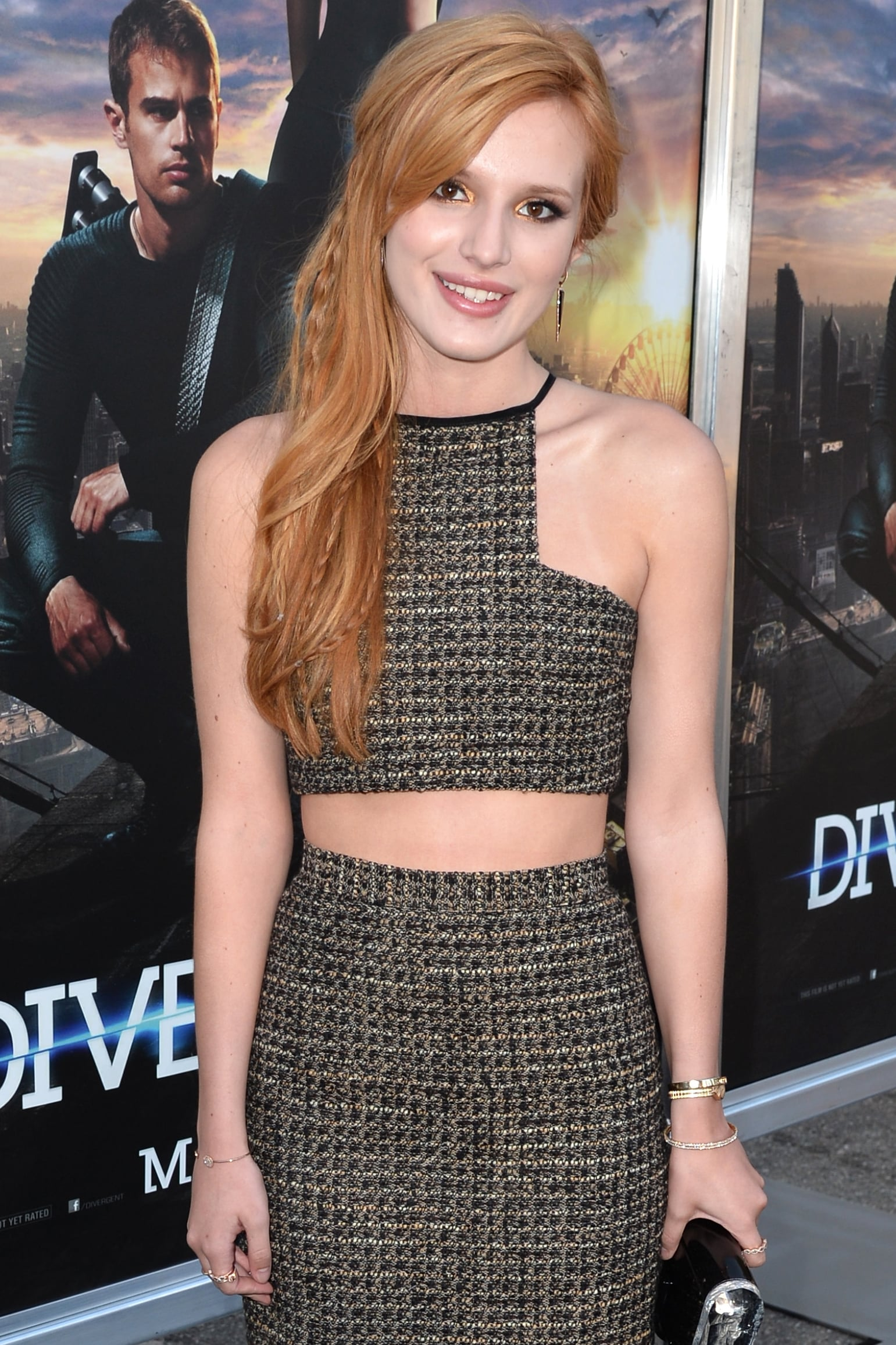 Disney Channel star Bella Thorne joined the new Amityville horror movie, costarring Jennifer Jason Leigh as her mother.