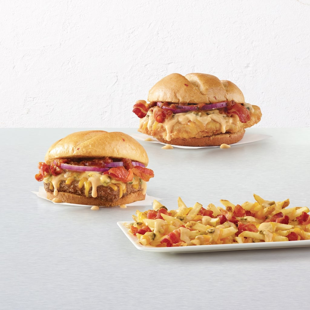 Wendy 39 s bacon queso menu items popsugar food for Does wendy s have a fish sandwich