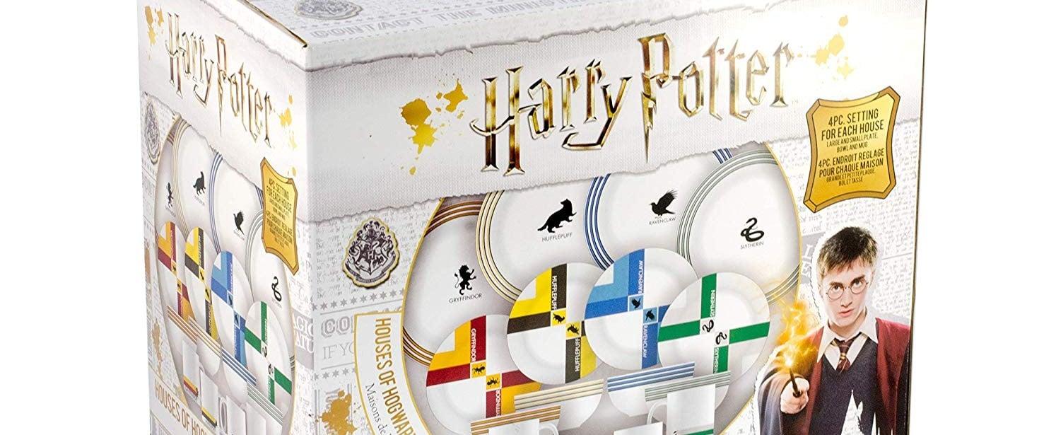 Harry Potter Hogwarts House Dish Set