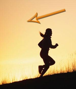 Fit Tip: Got Knee Pain? Run Downhill Backwards