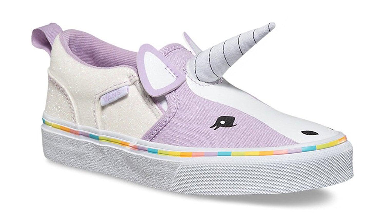 Vans Girls Asher V Unicorn Sneakers