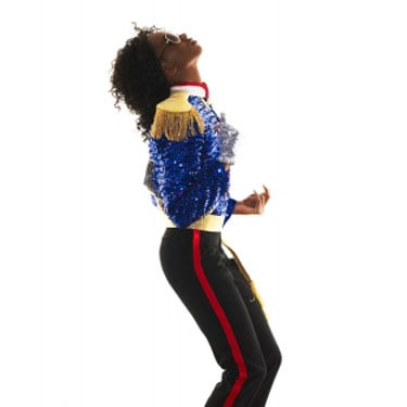 America's Next Top Model All-Star Pictures as Michael Jackson