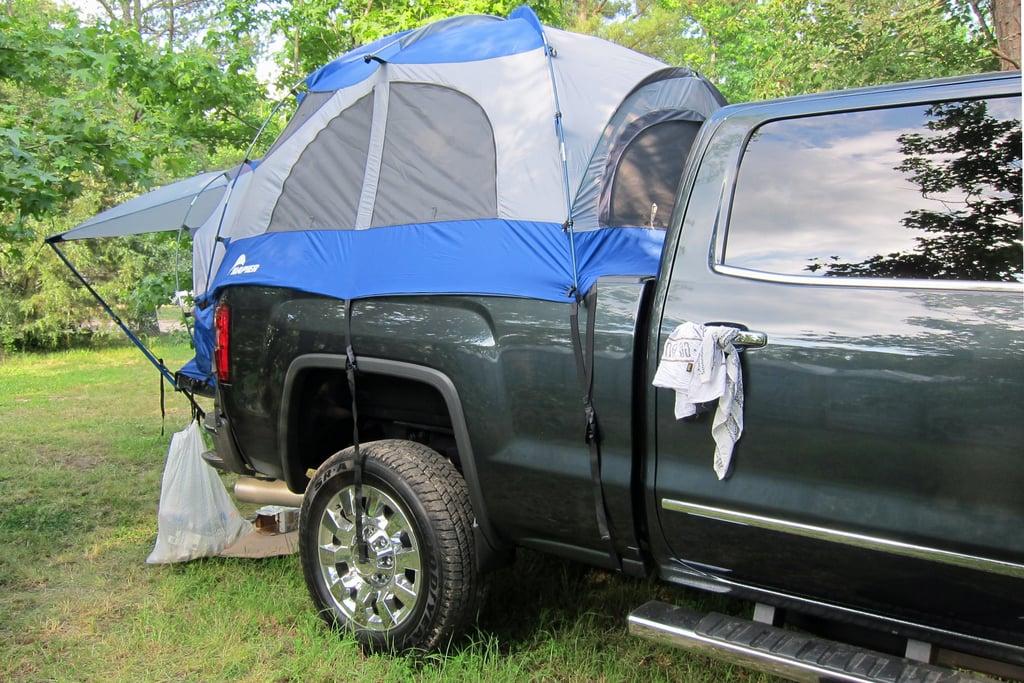 The Awning | GMC Sierra Denali Pickup Truck Camping Kit ...