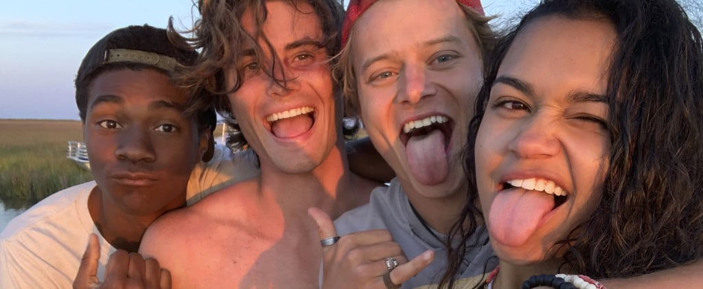 Pictures of the Outer Banks Cast Hanging Out Together