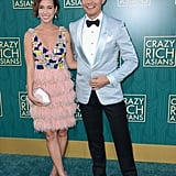 Pictured: Henry Golding and his wife Liv Lo