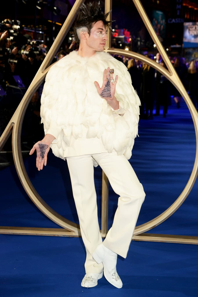 Eza Miller at Fantastic Beasts 2 London Premiere 2018