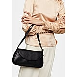 Topshop Eve Faux Leather Shoulder Bag