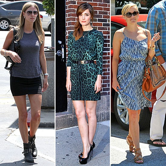 Celebrity Style Quiz For August 22 26 2011 Popsugar Fashion