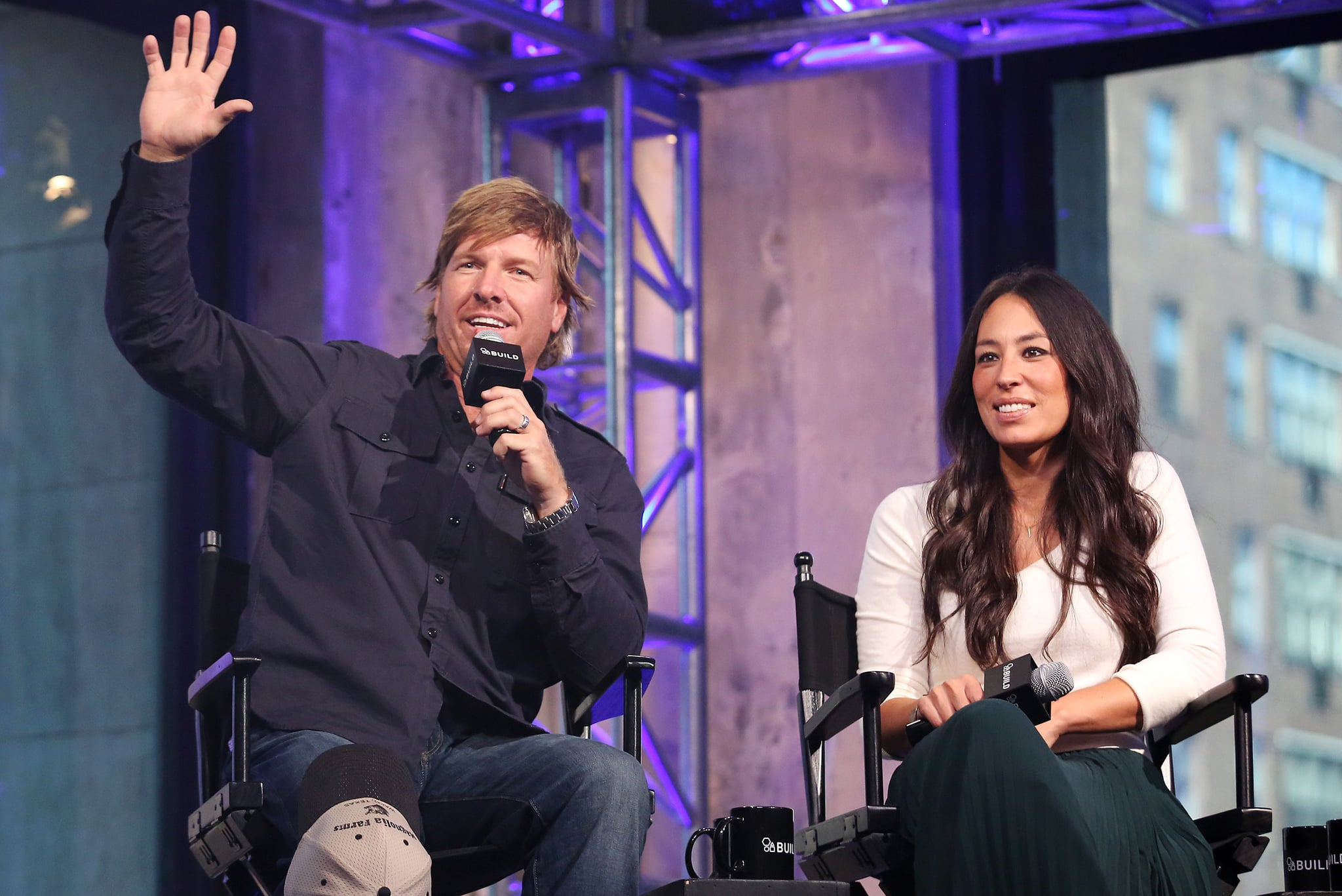 NEW YORK, NY - OCTOBER 19:  Chip Gaines and Joanna Gaines appear to promote