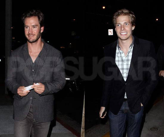 Slide Picture of Hunter Parrish and Mark Paul Gosselaar in LA