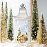 LED Light-Up Christmas Village Scene Lantern