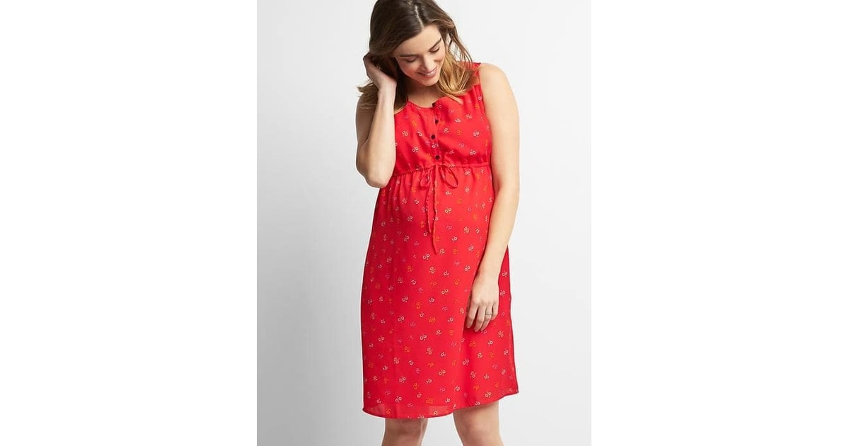 Gap Floral Sleeveless Shirtdress