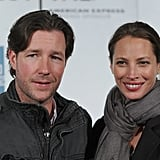 Christy Turlington linked up with Ed Burns at the premiere of Hysteria at the 2012 Tribeca Film Festival.