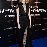 Emma's sexy Gucci number stole the show at the Paris premiere of The Amazing Spider-Man.