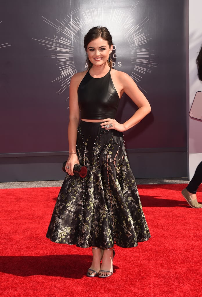 Lucy Hale at the 2014 MTV VMAs