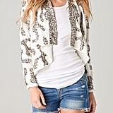 Throw this cool sequined jacket over a tee and jeans for a pop of daytime glam.  6 Shore Road Starry Nights Jacket ($145)