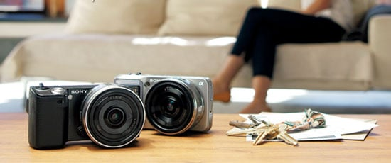 Sony Announces NEX5 and NEX3 Interchangeable Lens Digital Cameras