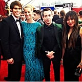 It's a Glee world of fashion, and we're just living in it. Source: Instagram user sagawards