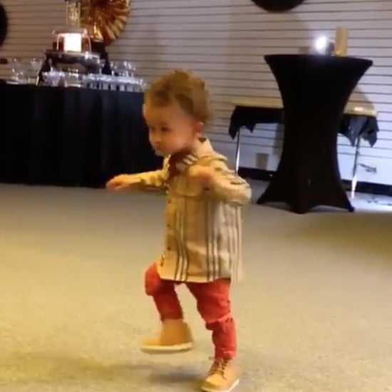 Chrissy Teigen Takes Video of Miles Dancing to Music