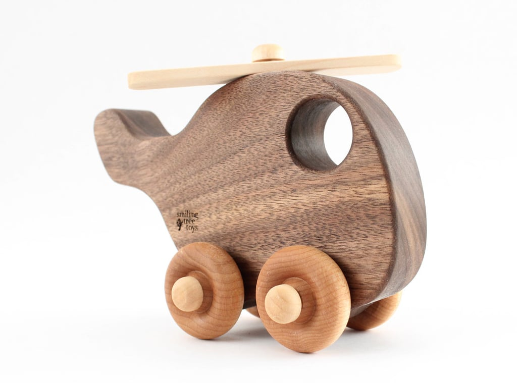Wooden Toys Product : Organic wood toy helicopter eco friendly