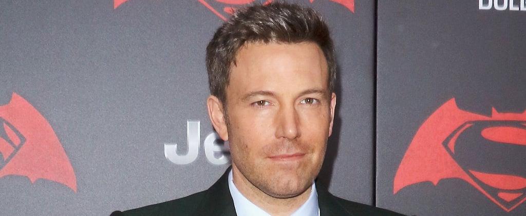 "Ben Affleck Gushes About ""Superhero Mum"" Jennifer Garner on the Red Carpet"
