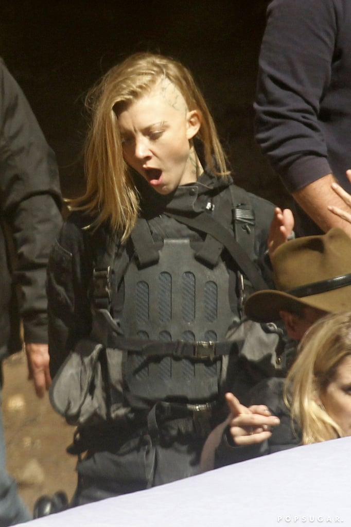 Dormer gave us a glimpse of her portrayal as Cressida, the tough documentarian who captures many of Katniss's experiences in Mockingjay.