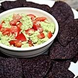 Low-Calorie Edamame Guacamole