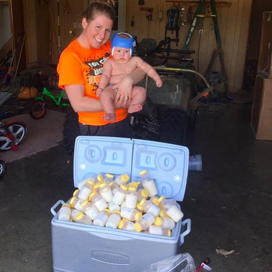 Mom Donates Breast Milk to Hurricane Harvey Victims