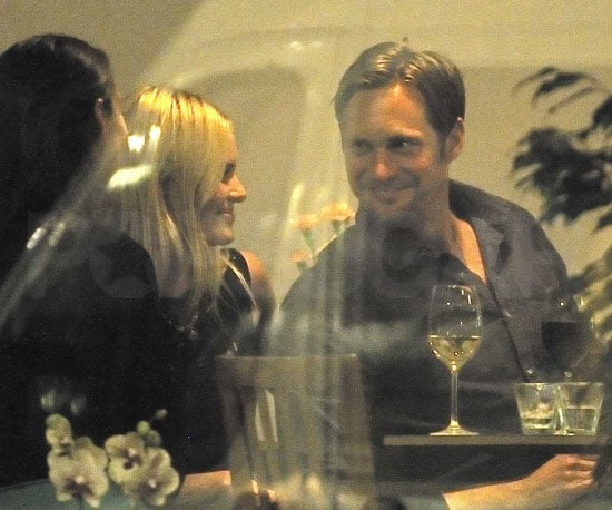 Slide Picture of Alexander Skarsgard and Kate Bosworth on Date in Sweden