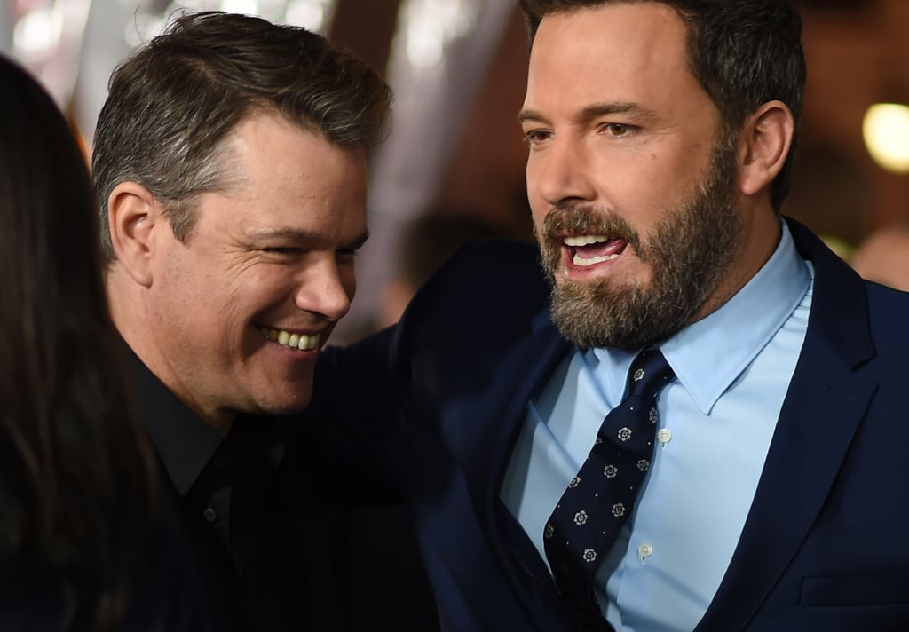 Ben Affleck and Matt Damon at Live by Night Premiere 2017 ...