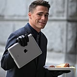 This iPad and That Plate of Spaghetti